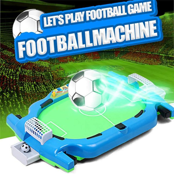 Mini Football Soccer Tabletop Game Classic Games Table Top Shooting Fun Toy For Kids Boys Girls Adults Teens Sports Fans