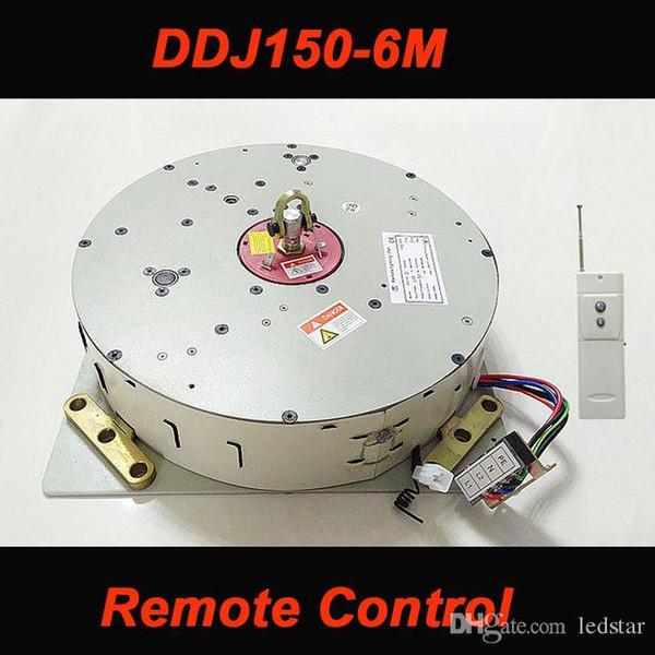 DDJ150 150KG 6M Auto Remote-controlled Chandelier Hoist Lighting Lifting System Electric Winch Lamp Motor AC 85-265V