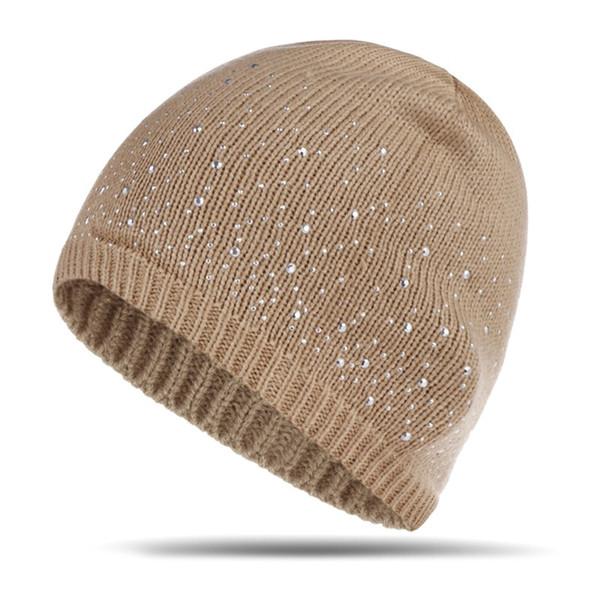d882704e03839c 2018 New Winter Hats Unisex Women's Cotton Solid Warm Hot Sale HIP HOP  Knitted Hat Female