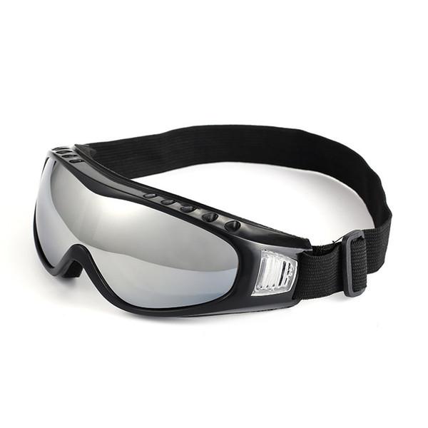 Einstellbare Outdoor Sportbrillen Skifahren Radfahren Bergsteigen Auge tragen Unisex Brille Winddicht Sand-Proof Goggles Tactical Gear