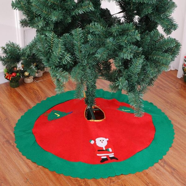 Christmas Decorations Xmas Party Decoration Supplies 35 39 Inches Christmas Tree Skirt Non Woven Festive Party Xmas Tree Skirt Fp09 Decorate Christmas