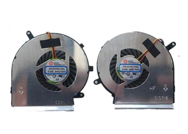 GPU Cooling Fan For MSI GE62 GL62 GE72 GL72 GP62 GP72 PE60 PE70 PAAD06015SL