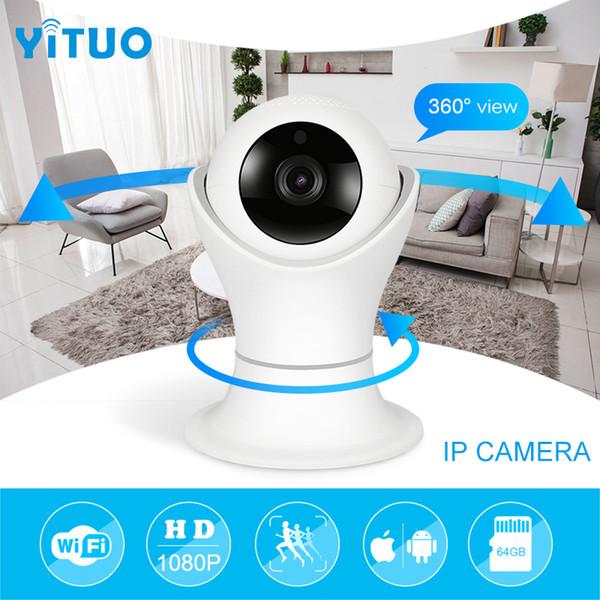 Telecamere di rete wireless HD 1080p Wifi IP telecamera HD Cctv Video Telecamere di rete per la sicurezza domestica Telecamera di sorveglianza Baby Monitor YITUO