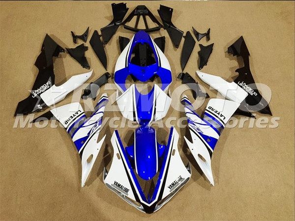Injection mold New Fairings For Yamaha YZF-R1 YZF R1 2004 2005 2006 01 R1 04 05 06 ABS Motorcycle Fairing Kit Blue Q18