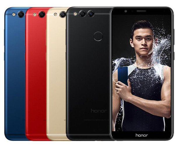 Huawei Honor 7X Global Firmware Unlocked Cell Phone 32GB/64GB/128GB Octa Core Dual Rear Camera 5.93inch Android 7.0 4G LTE