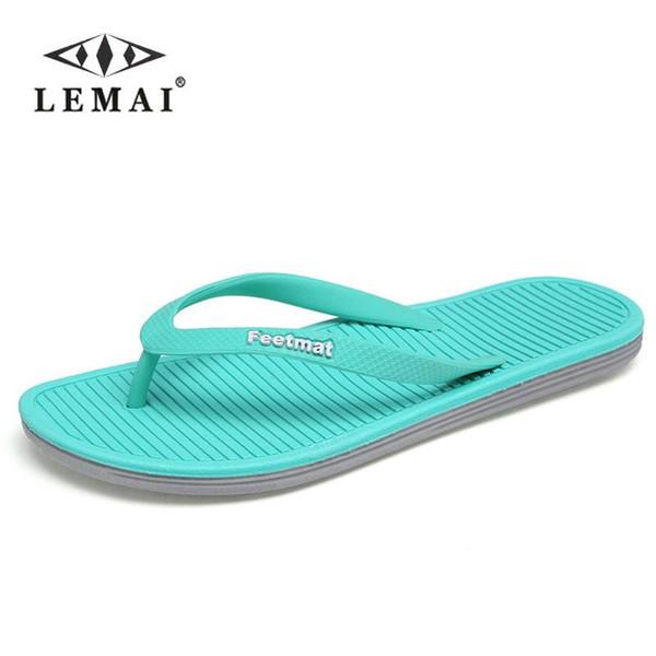 Big Size 36-45 Men Sandals New Brand Flip Flops Men Beach Slippers For Women Summer Shoes Flat Sandals Men Flip Flops 2018