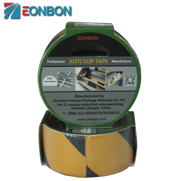 Free Shipping EONBON 50MM X 5M Anti Slip Tape With Strong Adhevition For Stairs , Steps , Floor