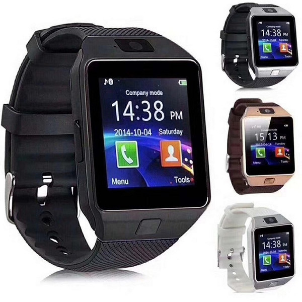 top popular DZ09 Wrist GT08 U8Smartwatch Bluetooth Android SIM Intelligent Mobile Phone Watch with Camera Can Record the Sleep State Retail Package 2020