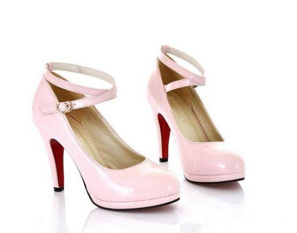 Free send Hot Korean stylish high heels shoes Shallow mouth single shoes woman