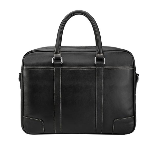 Tiding Leather Leather Briefcase Mens 15 pollici Borse per notebook Tote Business Office Case Satchel Retro Messenger Bag Maleta Brown