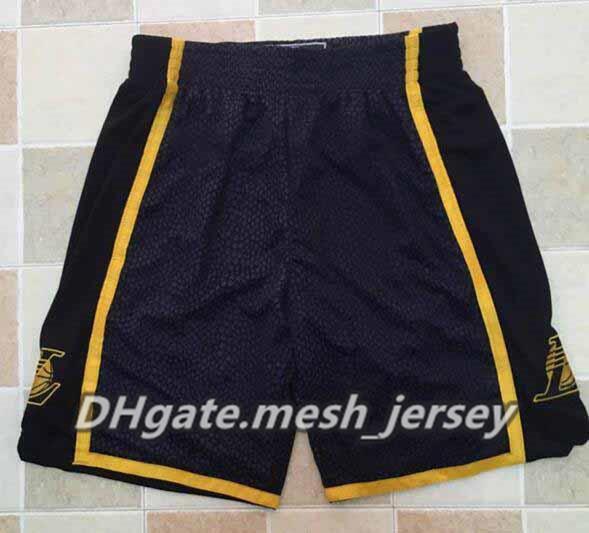 finest selection 9a456 2081d 2018 Retro Los Angeles Lakers Lebron Kobe Bryant Basketball Shorts Men Kobe  Retirement Commemorative Sweatpants Team Classic Sportswear Short From ...