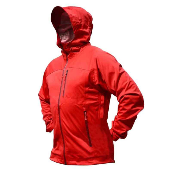 huge discount 95967 38c43 2019 Men'S Red Rain Jacket Waterproof Hooded Quick Dry Winbreaker  Breathable Lightweight Softshell For Outdoor Travel Hiking Cycling From  Seahawks, ...
