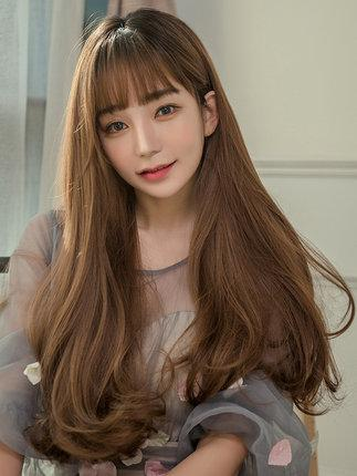 The New Trend Long Curly Hair Long Wavy Hairline Invisible Round Face Cos Head Cover Style White Cosplay Wig Cosplay From Huamei 6 100 51