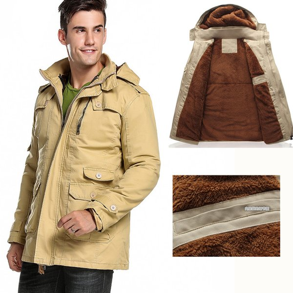 Winter Jacket Men Coat Parka Track Jacket For Men Male Jackets Veste Homme Hiver Warm Thick Coat Plus Size Manteau Homme Hiver