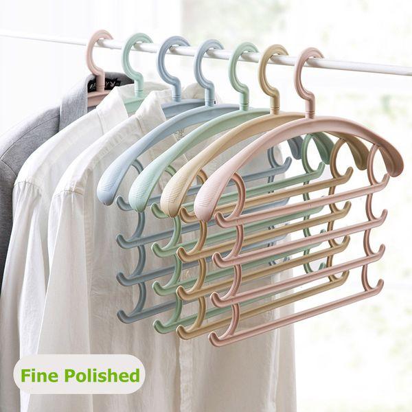 Multi-Layer Wardrobe Trousers Rack Multi-Function Trousers Hangers Household Pants Scarf Shelves Hold Hanger