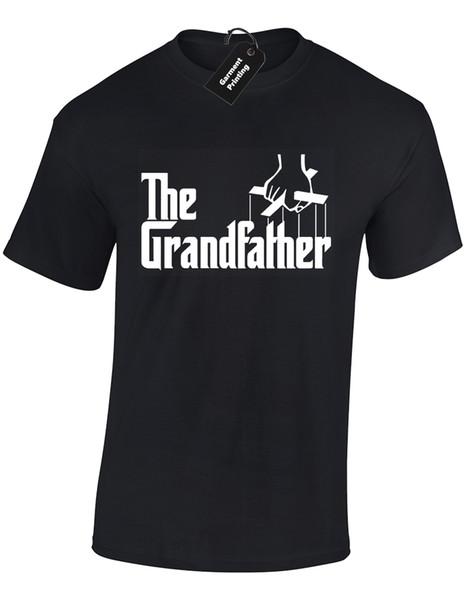 Le grand-père Mens T-shirt Drôle Parrain Design Cadeau Présent Idée S - 5xl Cool Casual Pride T Shirt Hommes Unisexe Nouveau Mode