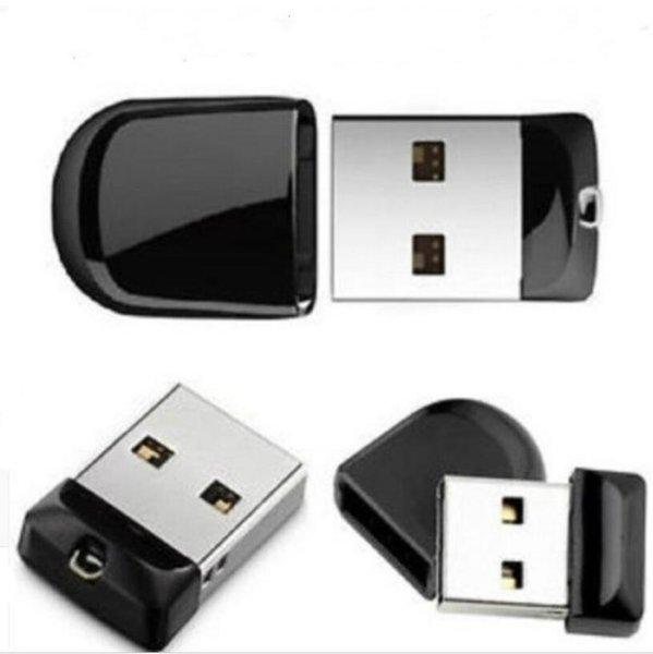 Clé USB Pendrive mini-clé USB2.0 à capacité réelle de 64 Go ~ 64 Go