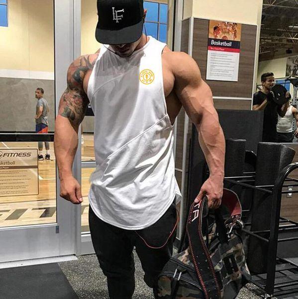 Brand Fitness Clothing Gyms singlets Men Tank Tops Mens Bodybuilding Stringers Tanktop workout golds Sporting Sleeveless T Shirt