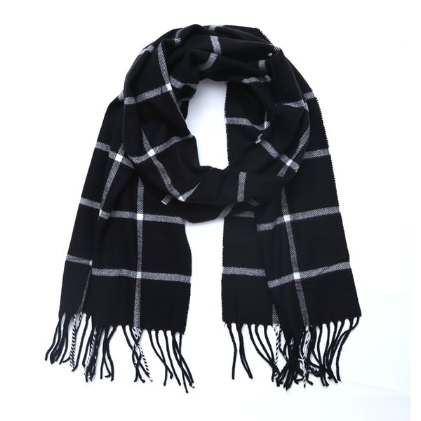 Brand Fashion Winter Scarf For Women Men General Children Plaid cashmere Scarves Boys Girls Parents Scarf Unisex