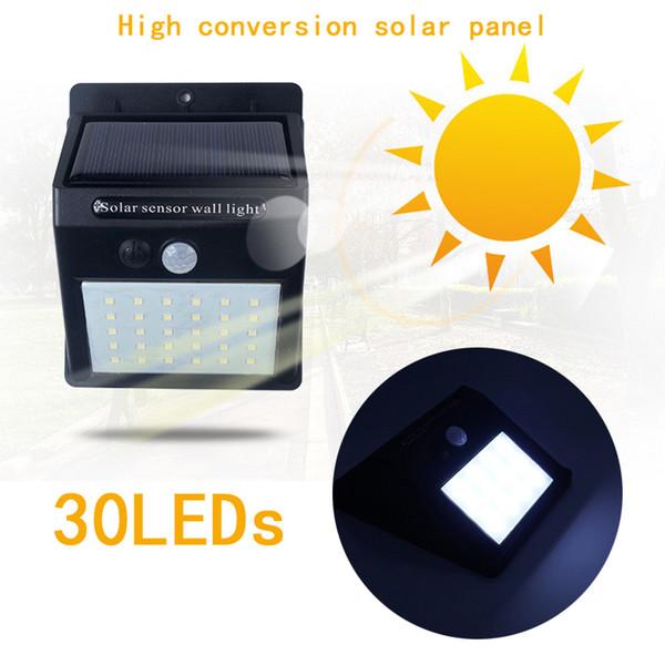 Imperméable à l'eau 35LEDs Panneaux solaires de lumière solaire Capteur de mouvement PIR Motion