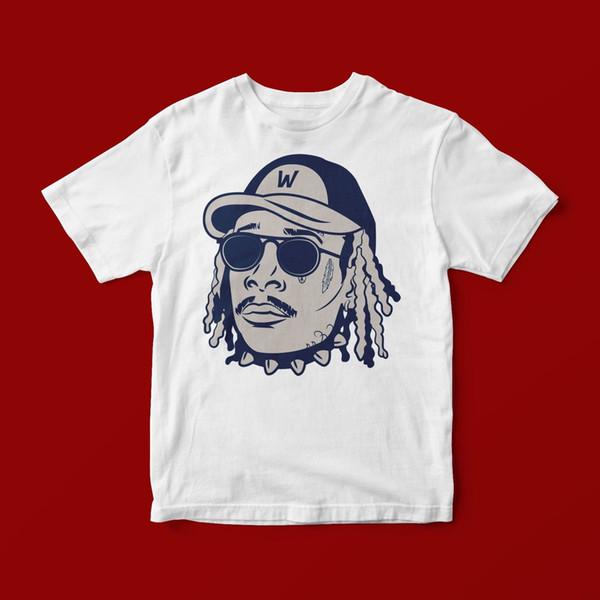 CAMISETA WIZ KHALIFA UNISEX 392 Camiseta estampada de manga corta para hombre Camisetas con cuello en O Stree Twear