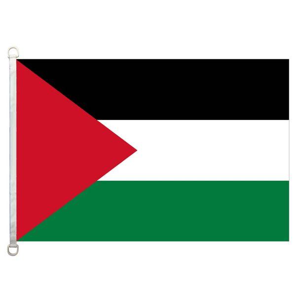 Palästina flagge, 90 * 150 CM, 100% polyester, banner, digitaldruck