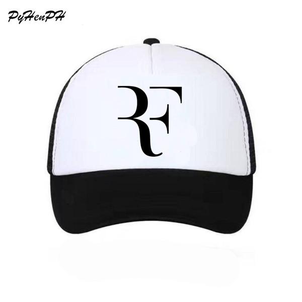 Roger Federer RF aficionados al tenis gorra de béisbol de malla de verano  fresco gorras hombres 51e2a40ffd7