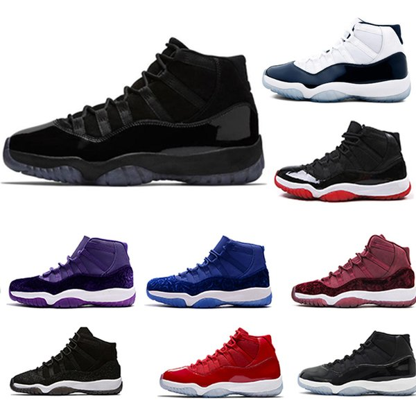 d4e93bd8841e Cap and Gown 11 XI 11s PRM Heiress Black Stingray Gym Red Chicago Midnight  Navy Space
