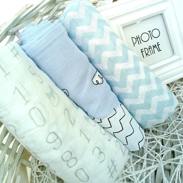 Washable Baby Cloth Diaper Newborn Muslin Gauze Cotton Nappy Liners Breathable Diapers Insert Infant Nappy Changing 3pc/lot Z059
