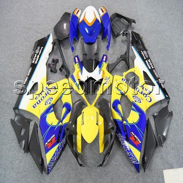 23colors + Gifts Molde de inyección amarillo azul GSXR1000 2005 2006 Carenado de motocicleta para Suzuki GSX-R 1000 05 06 K5 Kit de plástico ABS