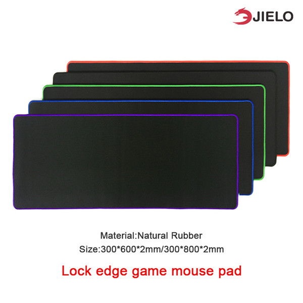 best selling Gaming mouse pad Waterproof Desk Game Computer office household New Super Large Size Optional Mouse Pad Natural Rubber Material Retail link