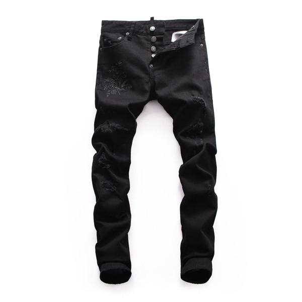Compre 2018 Nuevos Hombres Ds Pantalones De Mezclilla Modelos De ...