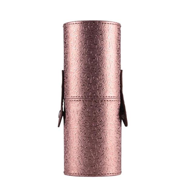 1 PCS Hot Vintage Kit Pens Lucky Makeup Brushes Woman School PU leather Bag School Pen Pencil Make Up Cosmetic Bag