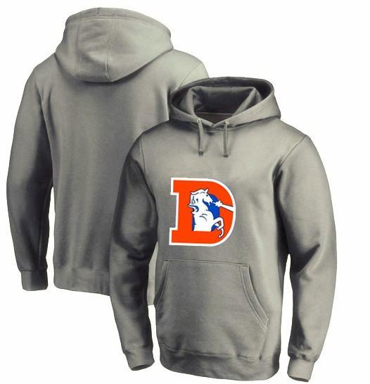 Hoodies Fãs Broncos de Inverno dos homens, Novo Design Denver Moletons 80 s Broncos D Logotipo Impressão de Moda Tops O-pescoço Pullover