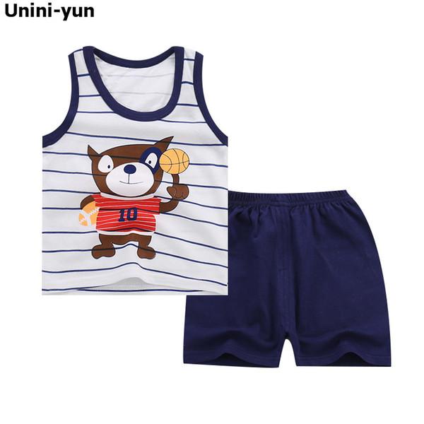 2018 Baby Mädchen Kleidung Katze Mode Cartoon Mädchen Sommer Set Kleidung Baby Anzüge Kinder T-shirt + Hosen Kinder Kleidung Set