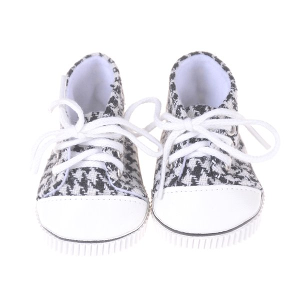 18 Inch Casual Canvas Shoes American Dolls Shoes Baby Born Doll Fit On 18 Inch 43cm Zapf Baby Born Doll Accessories