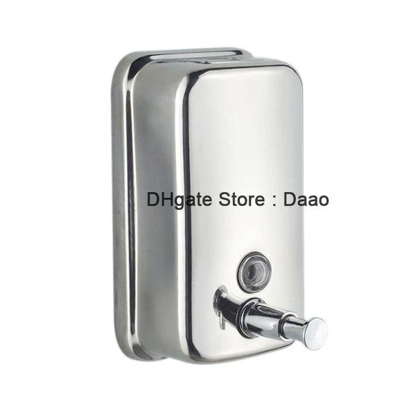 Edelstahl Wandmontage Seifenspender Badezimmer Shampoo Spender Soap Dispenser DE
