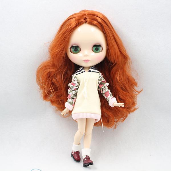 Blyth Joint Puppe braunes Haar 230BL1207 Fabrik Puppe Mädchen Spielzeug DIY Sonderangebot