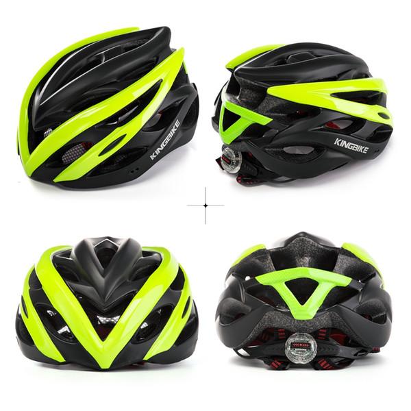KINGBIKE Fahrradhelme Fahrradhelme Frauen MTB Light Lntegrally-geformte PVC + EPS 210g Erwachsene Rennrad Helm Fahrradhelm Schaum mtb