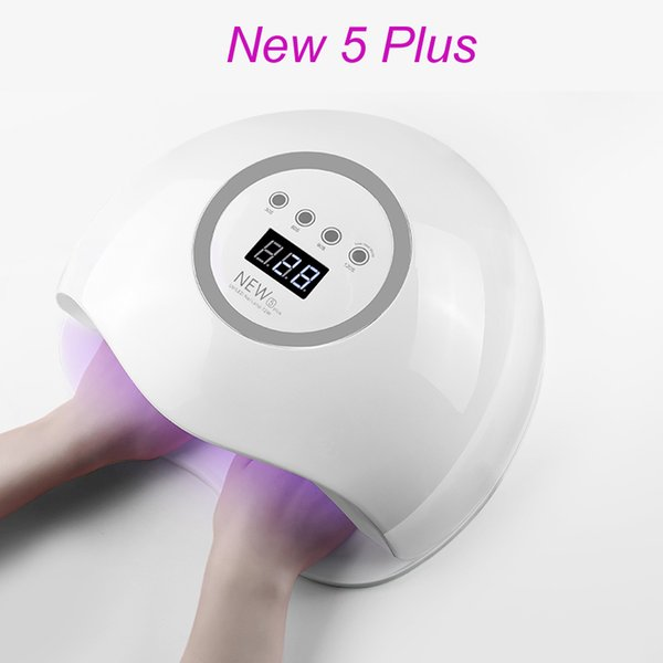BEVILI FARBE Neue 5 Plus Nageltrockner 72 Watt LED UV Lampe Nagel Trockner Gel Aushärtung Maniküre Maschine Kunst Werkzeug Automatische Sensor