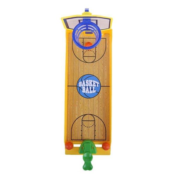 Los niños Funny Desktop Hockey Shooting Game Toys Kids Mini Baloncesto Fútbol Finger Board Juegos Disparar Deporte de Escritorio Juguetes