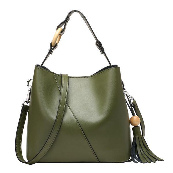 Großhandel Nesitu Grün Schwarz Rot Split Leder Kleine Frauen Handtaschen Aus Leder Damen Umhängetasche Frau Messenger Bags Weibliche Tote # M0801 Von
