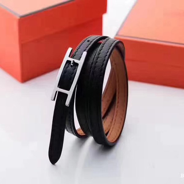 Charms Bracelets For Women men Fashion Leather Bracelets & Bangle New Femme Gift Cuff Bracelet for Lovers Luxury Brand Party Jewellery