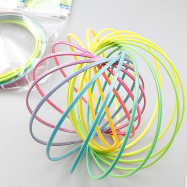 top popular Flow toys Magic bracelet Toroflux flow ring children plastic decompression exercise artifact tricks hoop toy Children's gifts magic novelty 2019