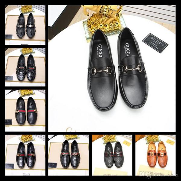 Men's Classic Tassel Loafers Leather Shoes Italian Formal Dress Office Footwear Luxury Brand Fashion Elegant Oxford Shoes for Men Plus