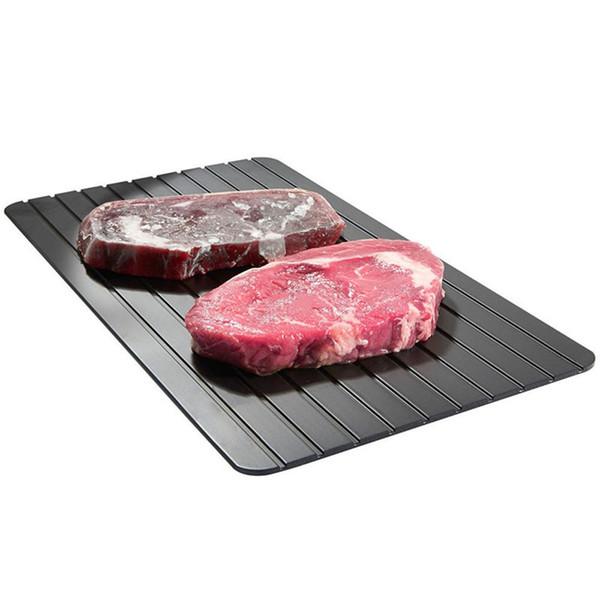 H20968-L быстрый легкий размораживая поднос самый безопасный путь разморозить мясо или замороженные продукты (L) Bandeja De Descongelacion