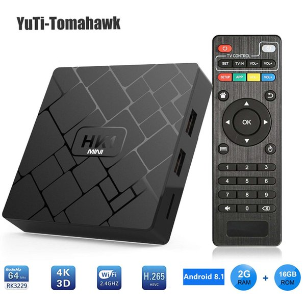 BM Android 8.1 Smart TV BOX RK3229 2G DDR3 16G EMMC ROM Set Top Box 4K 3D H.265 Wifi media player TV Receiver play store mini pc