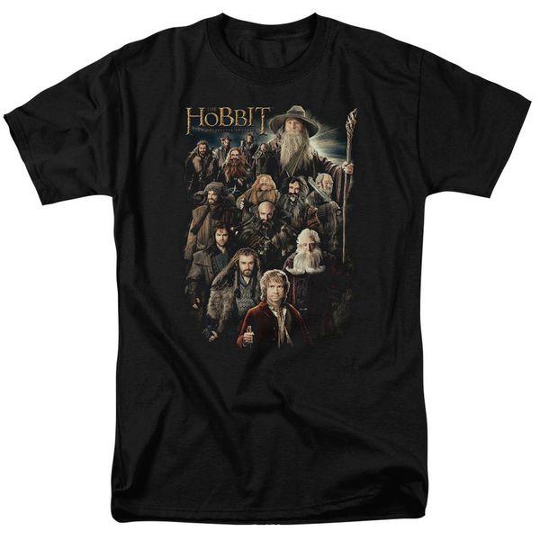 Hobbit Movie SOMBER COMPANY Licenciado Adulto T-Shirt Todos os Tamanhos