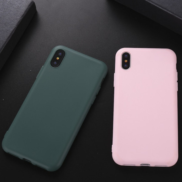 phone case for iphone 7 6 6s 8 x plus 5 5s se simple solid color50pcs phone case for iphone 7 6 6s 8 x plus 5 5s se simple solid