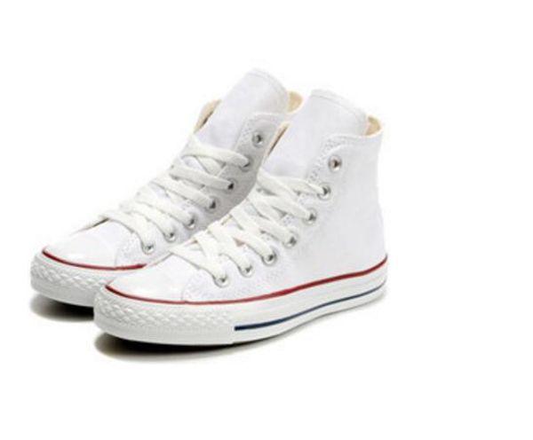 NEW style size35-46 Neue Unisex Low-Top High-Top Erwachsene frauen männer Leinwand Schuhe 10 farbe sport sterne chuck Schnürschuhe Casual Sneaker schuhe